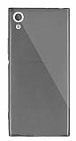 Dafoni Aircraft Sony Xperia XA1 Süper İnce Şeffaf Siyah Silikon Kılıf