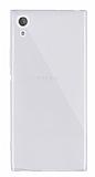 Dafoni Aircraft Sony Xperia XA1 Süper İnce Şeffaf Silikon Kılıf