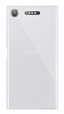 Dafoni Aircraft Sony Xperia XZ1 Süper İnce Şeffaf Silikon Kılıf