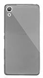 Dafoni Aircraft Sony Xperia Z3 Plus Ultra İnce Şeffaf Siyah Silikon Kılıf