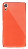 Dafoni Aircraft Sony Xperia Z3 Plus Ultra İnce Kırmızı Silikon Kılıf