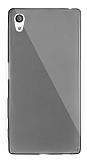 Dafoni Aircraft Sony Xperia Z5 Ultra İnce Şeffaf Siyah Silikon Kılıf