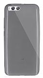 Dafoni Aircraft Xiaomi Mi 6 Ultra İnce Şeffaf Siyah Silikon Kılıf