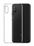 Dafoni Aircraft Xiaomi Mi A2 Lite Ultra İnce Şeffaf Silikon Kılıf