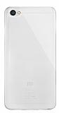 Dafoni Aircraft Xiaomi Redmi Note 5A Ultra İnce Şeffaf Silikon Kılıf