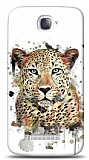 Alcatel One Touch Pop C7 Leopard Kılıf