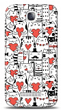 Alcatel One Touch Pop C7 Love Cats Kılıf