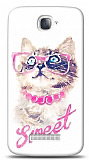 Alcatel One Touch Pop C7 Sweet Cat Kılıf