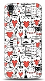 Alcatel OneTouch idol 3 4.7 Love Cats Kılıf