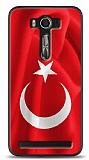 Asus ZenFone 2 Laser 5 inç Türk Bayrağı Kılıf