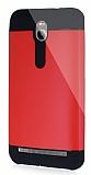 Dafoni Asus Zenfone 2 Slim Power Ultra Koruma K�rm�z� K�l�f
