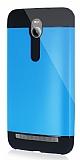 Dafoni Asus Zenfone 2 Slim Power Ultra Koruma Mavi Kılıf