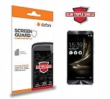 Dafoni Asus ZenFone 3 Deluxe ZS570KL Slim Triple Shield Ekran Koruyucu