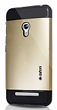 Dafoni Asus Zenfone 5 Slim Power Gold K�l�f