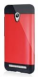 Dafoni Asus Zenfone Go Slim Power Ultra Koruma Kırmızı Kılıf