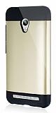 Dafoni Asus Zenfone Go Slim Power Ultra Koruma Gold Kılıf