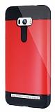 Dafoni Asus Zenfone Selfie Slim Power Ultra Koruma Kırmızı Kılıf