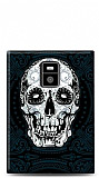 BlackBerry Passport Black Skull Kılıf