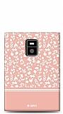 Dafoni BlackBerry Passport Pink Flower Kılıf