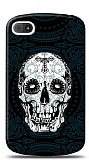 BlackBerry Q10 Black Skull Kılıf