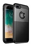 Dafoni Business Shield iPhone 7 Plus / 8 Plus Siyah Silikon Kılıf