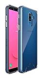 Dafoni Clear Hard Samsung Galaxy J8 Ultra Koruma Kılıf