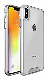 Dafoni Clear Hard iPhone XS Max Ultra Koruma Kılıf
