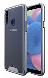 Dafoni Clear Hard Samsung Galaxy A20S Ultra Koruma Kılıf