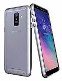 Dafoni Clear Hard Samsung Galaxy A6 Plus 2018 Ultra Koruma Kılıf