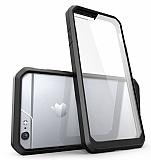 Dafoni Color Side iPhone 6 / 6S Kristal Siyah Kılıf