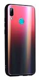 Dafoni Colorful Huawei P Smart 2019 Cam Kırmızı Kılıf