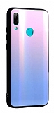 Dafoni Colorful Huawei P Smart 2019 Cam Pembe Kılıf