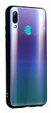 Dafoni Colorful Huawei P Smart 2019 Cam Yeşil Kılıf