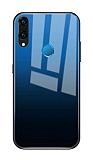 Dafoni Colorful Huawei P20 Lite Cam Mavi Kılıf