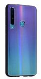 Dafoni Colorful Samsung Galaxy A9 2018 Cam Yeşil Kılıf