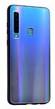 Dafoni Colorful Samsung Galaxy A9 2018 Cam Lacivert Kılıf
