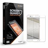 Dafoni Huawei P10 Lite Tempered Glass Premium Full Beyaz Cam Ekran Koruyucu