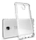 Dafoni Fit Hybrid OnePlus 3 Şeffaf Kılıf