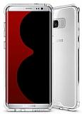 Dafoni Hummer Samsung Galaxy S8 Ultra Koruma Şeffaf Kılıf