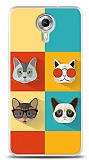 Dafoni General Mobile Android One Four Cats K�l�f
