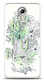 Dafoni General Mobile Android One Nature Flower K�l�f