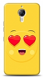 Dafoni General Mobile GM 5 Plus Aşk Emoji Kılıf
