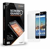 Dafoni General Mobile GM 5 Plus Curve Tempered Glass Premium Full Beyaz Cam Ekran Koruyucu