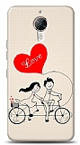 General Mobile GM 5 Plus Love Bike Couple Kılıf