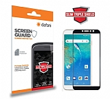 Dafoni General Mobile GM 8 GO Curve Slim Triple Shield Siyah Ekran Koruyucu