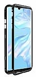 Dafoni Glass Guard Oppo A5 2020 Metal Kenarlı Cam Siyah Kılıf