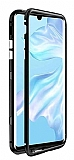 Dafoni Glass Guard Oppo Reno2 Z Metal Kenarlı Cam Siyah Kılıf