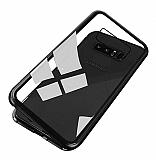 Dafoni Glass Guard Samsung Galaxy S10e Metal Kenarlı Cam Siyah Kılıf