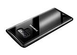 Dafoni Glass Shield Samsung Galaxy Note 9 Silikon Kenarlı Cam Siyah Kılıf