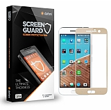 Dafoni HTC 10 Curve Tempered Glass Premium Gold Full Cam Ekran Koruyucu
